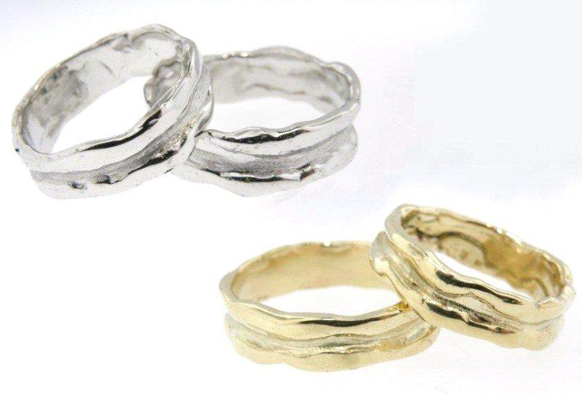 Freeform Wedding Bands